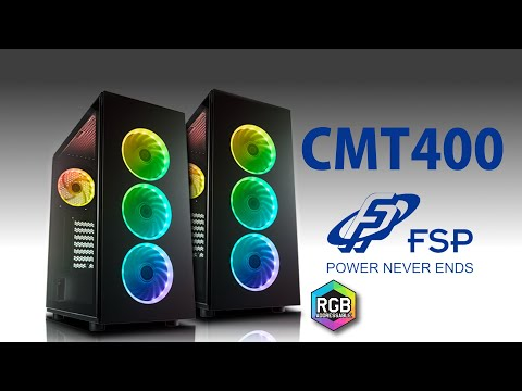 Unboxing - Mid-tower CMT340 od FSP