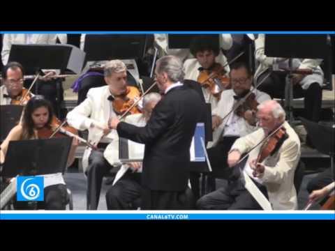 Presentación de orquestas sinfónicas y exposición escultórica en el auditorio Nezahualcóyotl de Chimalhuacán