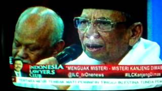 Kh Hasyim Muzadi Membongkar Kanjeng Taat Pribadi ILC
