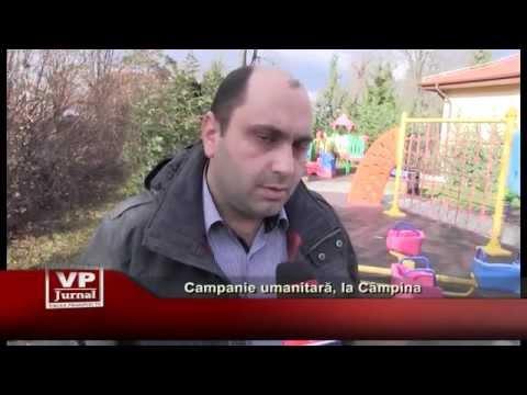 Campanie umanitara, la Campina