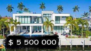 $5,500,000 Miami Luxury House Tour