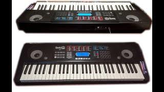 RockJam RJ 761 - sound and styles demonstration - Rock Jam RJ 761 (ध्वनि और शैलियों का प्रदर्शन)
