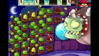 Зомби против Растений Доктор Зло игра на крыше