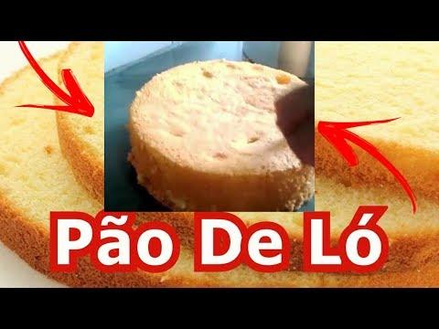 Aprenda fazer Pão de ló com 3 ingredientes muito simples rápido e fácil