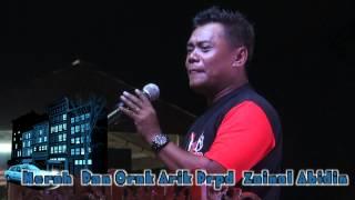 """Zainal Abidin Hijau Dengan Lagu """"Merah Dan Orak Arik"""" Bersama MEDIA HUNT 2012"""