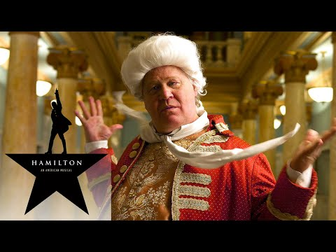 Hamilton the Musical -  YOU'LL BE BACK in Real Life King George - [FULL LYRICS]