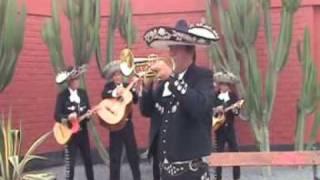 LA PALOMA - MARIACHI NUEVO JALISCO -  SOLO DE TROMPETA DE CESAR RIVERA -TELF. 5681512 - 989993475