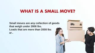 First-rated small moving companies
