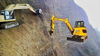 Amazing excavators in action