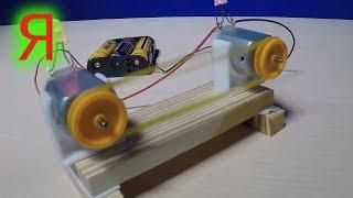 МОТОРЧ�К моторчики эксперименты как сделать физика для детей опыты с электричеством технику поделки