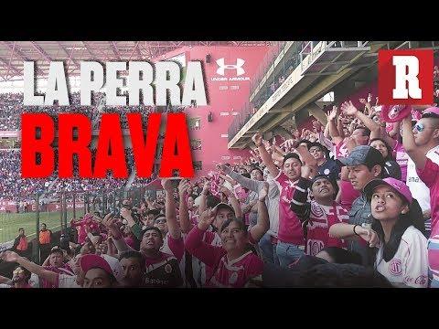 """""""Así se vive el ambiente de la barra del Toluca (La Perra Brava)   RÉCORD"""" Barra: La Perra Brava • Club: Toluca"""