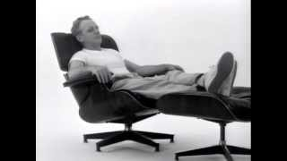The Eames Lounge Chair Assembly (1956 Promotional Film)
