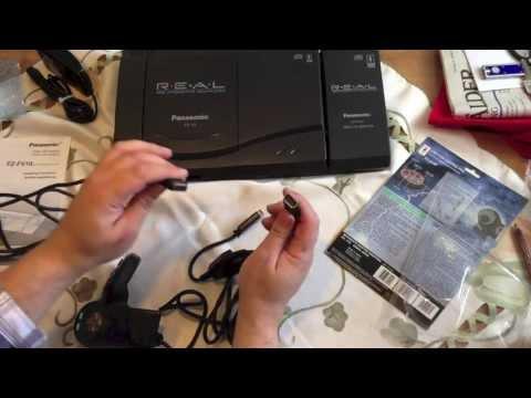 3DO Konsole mit Zubehör, Maus, 6 Button C., Flighstick Pro, Video CD