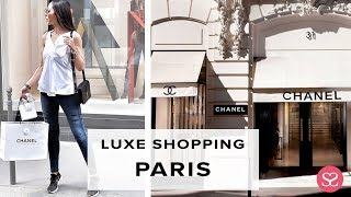 COME WITH US! LUXE PARIS SHOPPING VLOG   PART 1 PARIS VLOG   Chanel Rue Cambon   Sophie Shohet