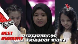 Sharla & Anggis & Putri | The Voice Kids Indonesia Season 2 GTV 2017