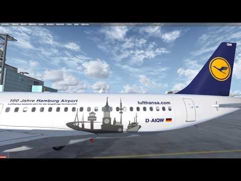 Prepar3D | FSLABS A320 First flight | EDDF - LOWW Part 1