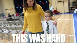 THIS WAS NOT EASY FOR HIM | SIX-YEAR-OLD KID OVERCOMING SHYNESS