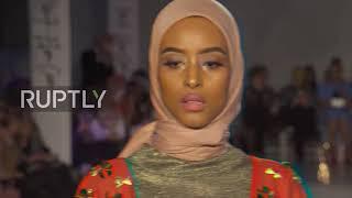 Londons Modest Fashion Week Hits The Catwalk
