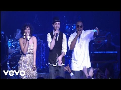 Give It To Me performed by Justin Timberlake, Nelly Furtado, and Timbaland