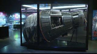 NASA's Liberty Bell 7 on display at Museum at Prairiefire