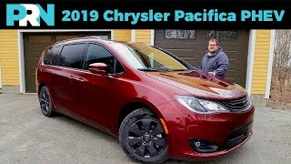 2019 Chrysler Pacifica Limited Hybrid (PHEV) Road Trip