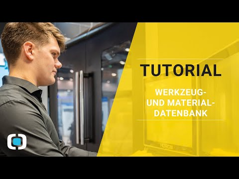 AWT Tutorial - Werkzeug- und Materialdatenbank