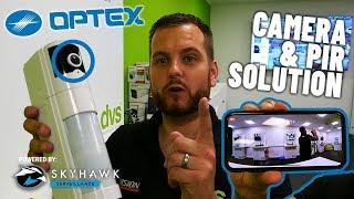 OPTEX PIR Sensor with Camera (VXI-CMOD)