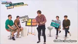 Idols dancing to Like A Cat by AOA