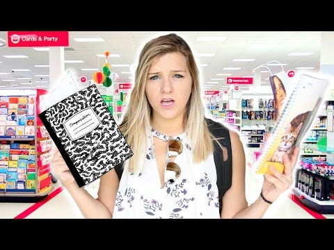 7 Stages Of School Supplies Shopping