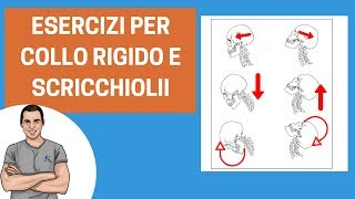 Esercizi cervicali utili per collo rigido, pesantezza e scricchiolii nel movimento