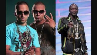HD - Wisin & Yandel ft Akon Hey Mama [Full Song]