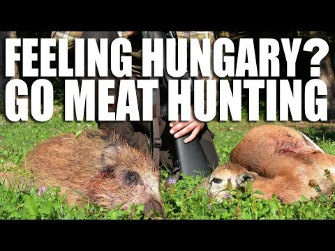 Feeling Hungary? Go Meat Hunting