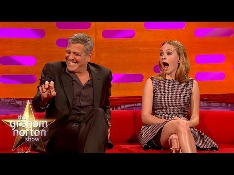 George Clooney u Grahama Nortona