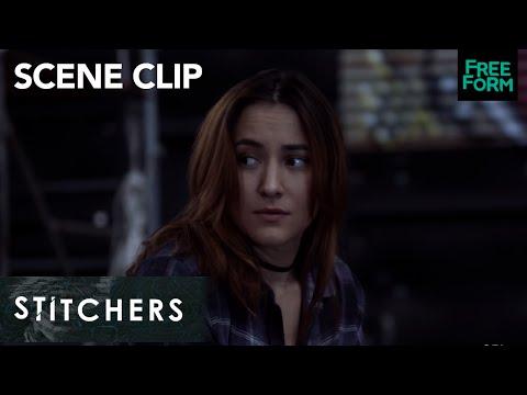 Stitchers | Season 3, Episode 6: Cameron and Zelda Talk About Jake | Freeform