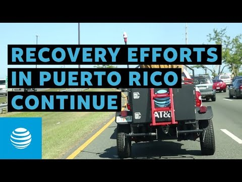 AT&T's First Official Deployment of Cell On Wings In Puerto Rico -youtubevideotext