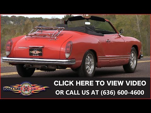 Video of 1972 Volkswagen Karmann Ghia Offered by MotoeXotica Classic Cars - MB4C