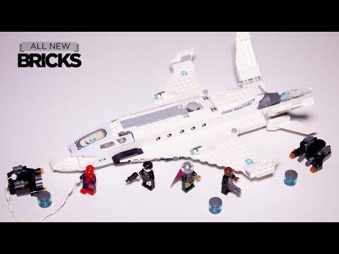 Vidéo LEGO Marvel Super Heroes 76130 : L'attaque de Spider Man avec le jet de Stark