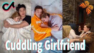 Cuddling Girlfriend TikTok ( Part 4 )