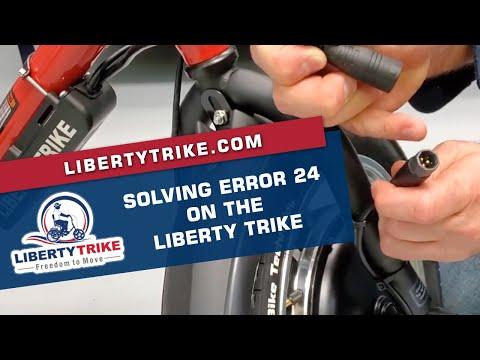 Liberty Trike | Solving an Error 24