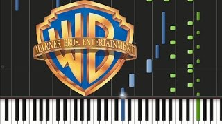 Warner Bros Pictures - Theme Song [Piano Cover Tutorial] (♫) - Video Youtube