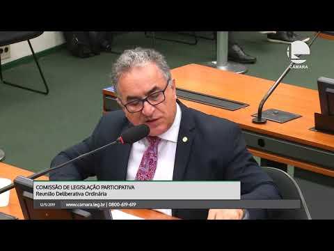 LEGISLAÇÃO PARTICIPATIVA - Reunião Deliberativa - 12/11/2019 - 10:57