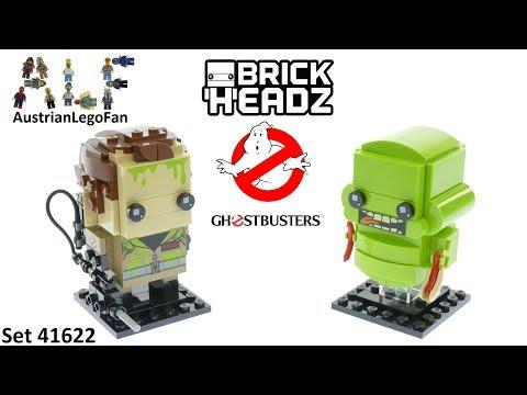 Vidéo LEGO BrickHeadz 41622 : Peter Venkman & Bouffe-tout (Ghostbusters)