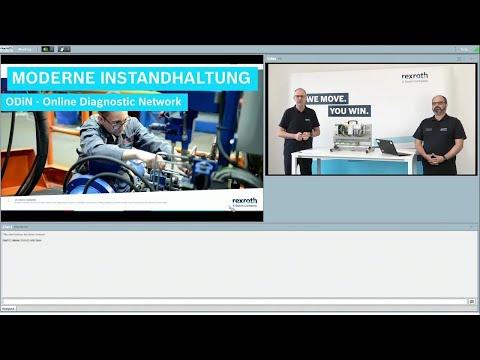 Bosch Rexroth Webinar: ODiN (Online Diagnostic Network) inkl. Fragen und Antworten