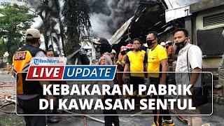 LIVE UPDATE: Kebakaran Pabrik di Kawasan Sentul