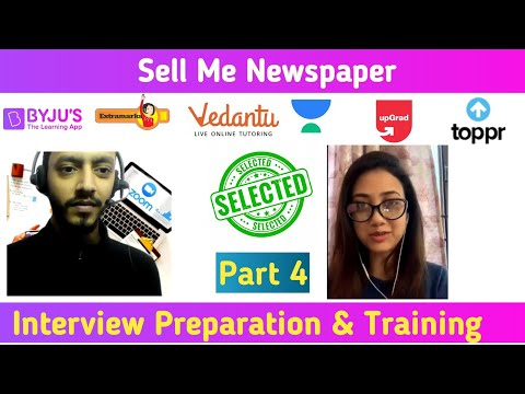 Byju's Interview Questions | Sell Me Newspaper | Selected in Byjus | Tarun Bhagat | Vartalap
