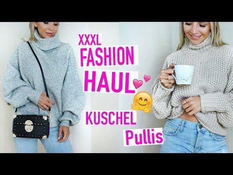 KUSCHEL Pullis von H&M , Zara , Mango | XXL FASHION HAUL + TRY ON