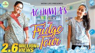 "Wow Life Presents ""Achuma's Fridge Tour"" ft. Archana & Zaara   Fridge Organization #WowLife"