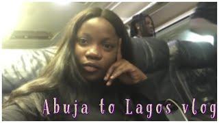 Abuja to Lagos Nigeria vlog flying with Aero the experience