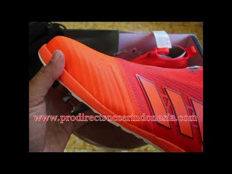 Sepatu Futsal Adidas Ace Tango 17+ Purecontrol Solar Red Orange Core Black BY2226