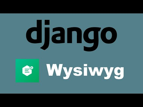 Django Wysiwyg Tutorial | CKEditor thumbnail